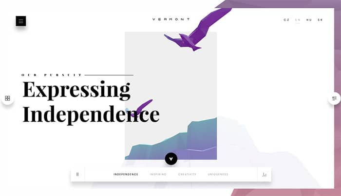 WebDesign Trends in WordPress