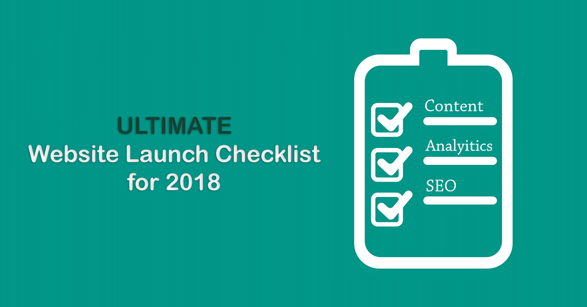 Ultimate Website Launch Checklist