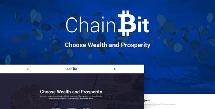 ChainBit Bitcoin & Cryptocurrency WordPress Theme